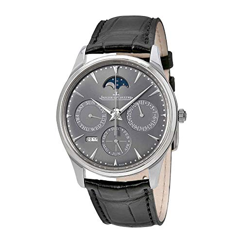 Jaeger LeCoultre Master Ultra Thin Perpetual Silver Dial Automatic Men's Watch Q130354J (Jaeger Lecoultre Master Ultra Thin Perpetual Calendar Price)