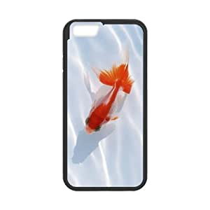 """ALICASE Diy Hard Cover Case Of Goldfish for iPhone 6 (4.7"""") [Pattern-1]"""