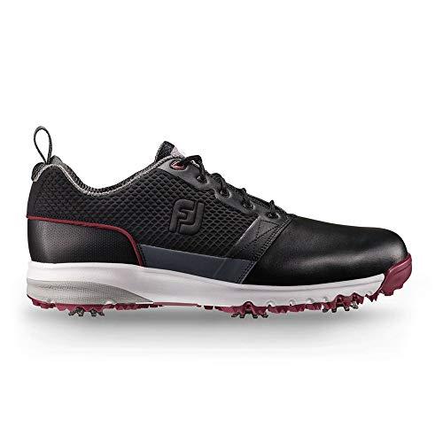 (FootJoy Men's ContourFIT-Previous Season Style Golf Shoes Black 10 M US)