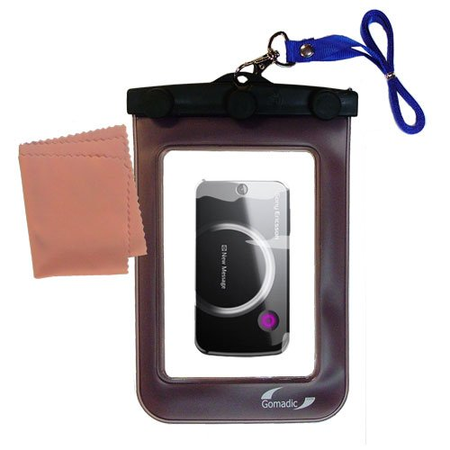 Underwater Case for the Sony Ericsson tm717 – 天気、安全に保護防水ケースagainst the elements   B0049KTHBU