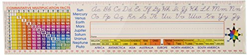 Scholastic  Super School Tool Standard Cursive Name Plates Upper Grades (TF1552)