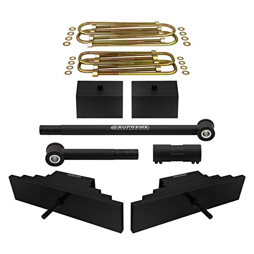 Front Leaf Lift Spring - Supreme Suspensions - Full Lift Kit for Super Duty F250 F350 3.5
