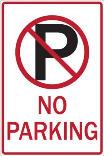 ZING 2465 Eco Parking Sign, Legend