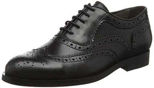 Hudson London Damen Dagne Calf Brogue Schwarz (Schwarz)