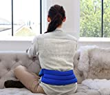 My Heating Pad- Adjustable Lumbar & Abdomen Heat Therapy Pack - Microwavable