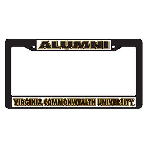 Virginia Commonwealth Plastic_PlateFrame BLK PLATE FRAME VCU ALUMNI