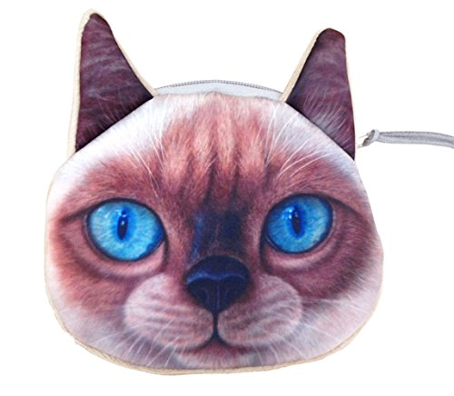 Wallet Universe Pets Card Print Fun Cute Coin Holder Family Mini Purse Birman Pink 8Id0qI
