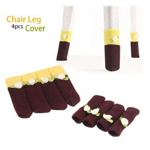 Of Table Chair Leg Cover Sock Case Furniture Floor Protectors Set 4pcs - Two Advent Violin Acoustic Silverware Hotwheels Stick Needles Five Yankee ()