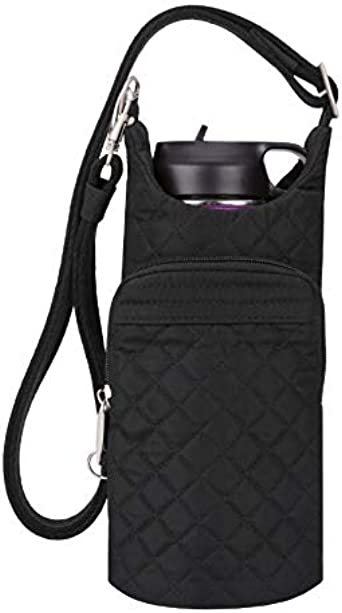 Travelon Anti-Theft Boho Water Bottle Tote Sling