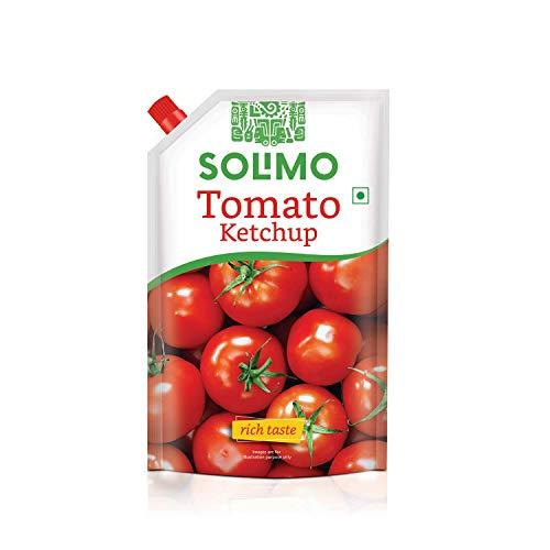 Amazon Brand – Solimo Tomato Ketchup, 950 g