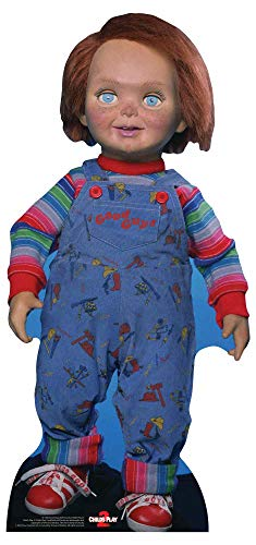 Good Guys Doll (Star Cutouts SC1326 Good Guys Doll ChuckyChild's Play Perfect for Halloween, Friends and Fans,)