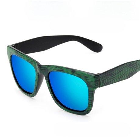 Sol Bambú Viejos Gafas Verde De De Gafas Uv400 Polarizadas Joker KLXEB Mujer Rot De Grano Sabios Gafas De Sol T0gpWc
