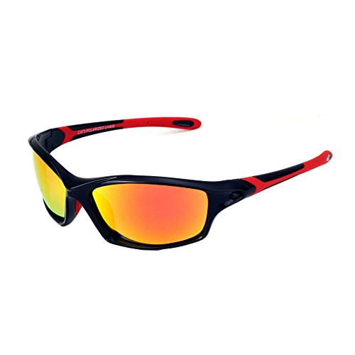 Polarized Sports Sunglasses Driving Sun Glasses for Men Women Tr 90 Unbreakable Frame for Cycling Baseball - Glare No Hunting Sunglasses