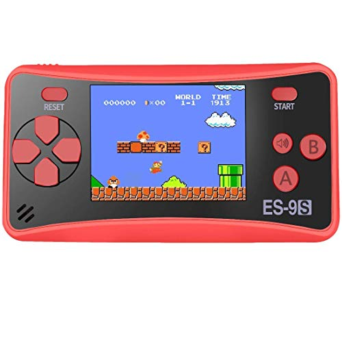 ZHISHAN Retro Handheld Game Console Gaming Player System Birthday Gift for Kids Built in 168 Classic Nostalgia Games with 2.5