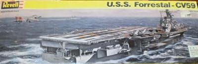 Revell USS FORRESTAL CV59 US Navy Carrier Model Kit