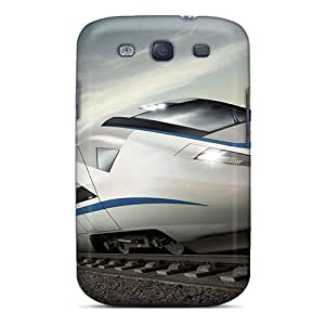 Hot Snap-on Amazing Train Hard Cover Case/ Protective Case For Galaxy S3