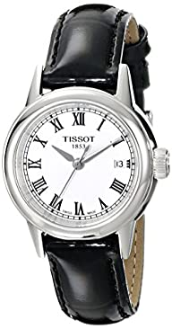 Tissot Women's T0852101601300 Carson Analog Display Swiss Quartz Black Watch