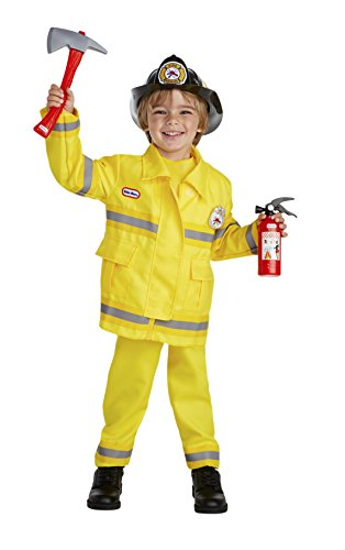 Little Tikes Brave Fire Captain Costume, 1-2T ()