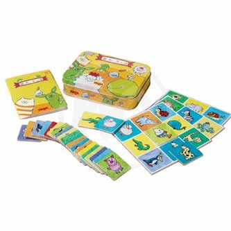 HABA Mini-Bingo Card Game Board Game (Mini Bingo)