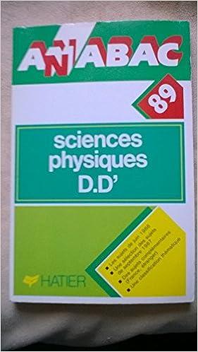 Livres gratuits en ligne Anabac.bac 1989. sciences physiques dd-. 12 pdf