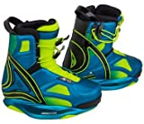 RONIX Limelight Wakeboard Bindings - Bikini Blue / Highlighter - 8