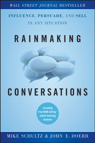 Conversations make or break everything in sales. Every conversationyou have is an opportunity to find new prospects, win newcustomers, and increase sales. Rainmaking Conversationsprovides a proven system for leading masterful conversations thatfill t...