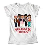 Blusa Stranger Things Colores Playera Dama Niña Estampado St 119