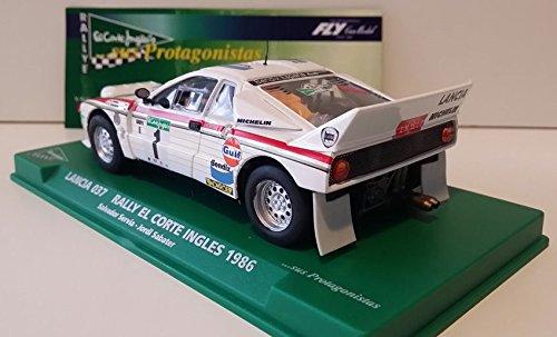 Slot SCX Scalextric Fly 99088 Lancia 037 Rally El Corte Inglés 1986 Serviá: Amazon.es: Juguetes y juegos