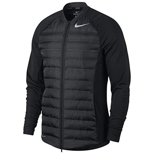 Uomo Nike 854530 Nero black Cappotto pwYqH