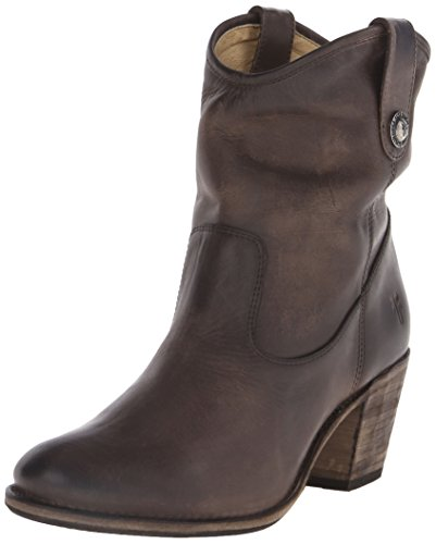 FRYE Women's Jackie Button Short Boot,  Slate, 9 M (Womens Jackie Button Boot)