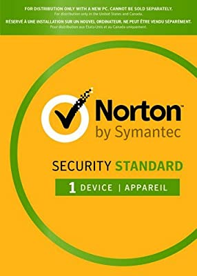 Norton Security Standard 2018 - Original CD