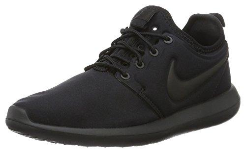 Noir Grade Two Sneakers Schwarz Basses School Nike garçon Roshe q17wBp0