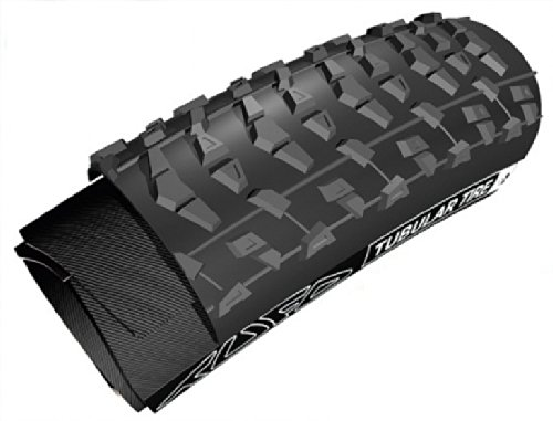 Tufo XC2 Plus Tubular Mountain Bike Tire with Tape, Black (Tubular Mountain Bike Tire)
