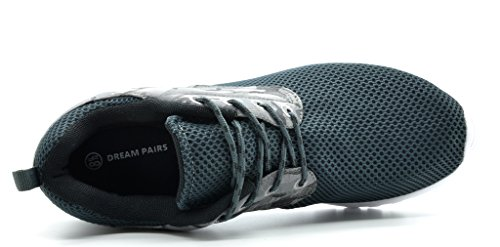 Droomparen 5003 Heren Nieuw Lichtgewicht Gemakkelijk Lopen Casual Sportschoenen Comfortabele Hardloopschoenen Sneakers Runpro-grey / Camo