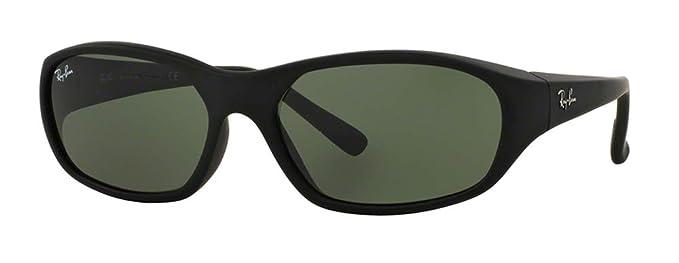 0f17acc3c3304b Ray-Ban RB2016 DADDY-O W2578 59M Matte Black Green Sunglasses For Men