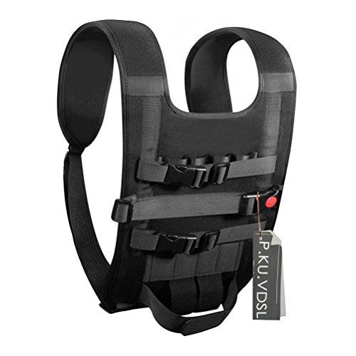 P.KU.VDSL Drone Easy Carrying Vest, Light Carry Backpack, Portable Shoulders Bag, Shoulder Neck Strap Belt For DJI Panthom 2/3 FC40 Vision, Quadcopter, Remote Controller, Battery, Propellers by P.KU.VDSL