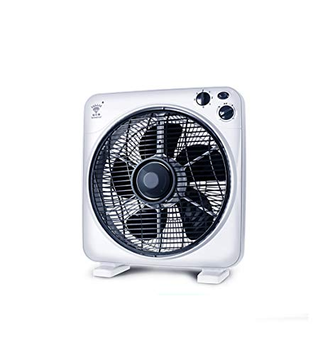 HYXFS Air cooler Electric fan dormitory desktop household bedside table vertical student fan silent turn page fan (Size : 10 inches) by HYXFS