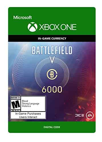 Amazon.com: Battlefield V: Battlefield Currency 6000 - Xbox ...