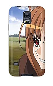 LeeJUngHyun AUCtLYr10141jzAgF Case Cover Skin For Galaxy S5 (spice And Wolf Animal Ears Anime Holo The Wise Wolf)
