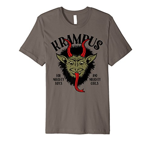 Krampus Holiday Graphic T-shirt -