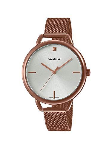 Casio Enticer Ladies Rose Gold Dial Women's Watch LTP-E415MR-7CDF(A1812)