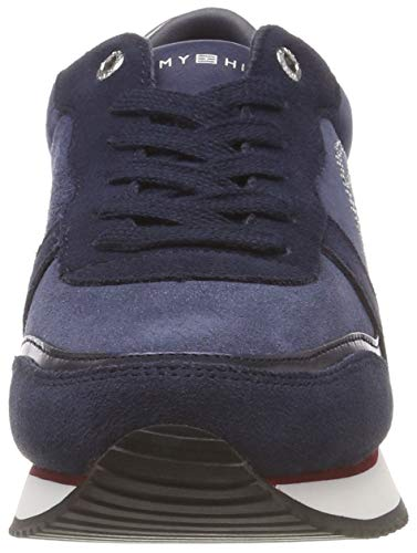 Hilfiger Stud Donna 020 Scarpe Blu City Tommy Rwb Ginnastica da Sneaker Basse d7Bxnqw8