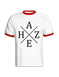 Hayes Grier Short-Sleeve T-shirt For Men Red XL Designer T Shirts