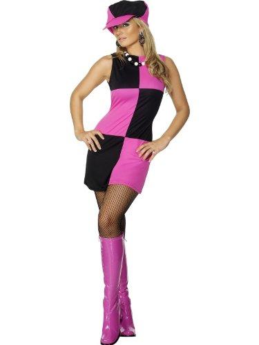Swinging 60s Costume Woman Fancy Dress (Sixties Fancy Dress Costumes)