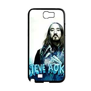 Printing Steve Aoki Hipster Phone Cases For Girly For Note2 Galaxy N7100 Choose Design 5