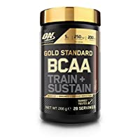 Optimum Nutrition Gold Standard BCAA Branch Chain Amino Acids with Vitamin C, Wellmune & electrolytes. BCAA powder by ON - Cola, 28 Servings, 266g