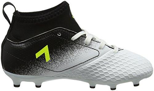 ... adidas Jungen Ace 17.3 FG J Fußballschuhe, Weiß Gelb (Footwear White/Solar  Yellow