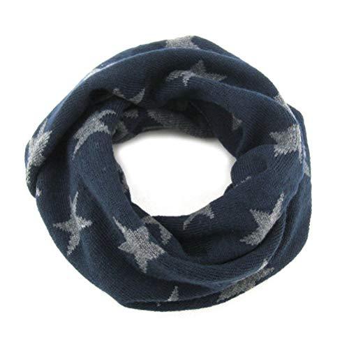 Moon Kitty Baby Girls Winter Loop Scarfs O-Ring Knit Baby Kids Scarf Neck Warmer