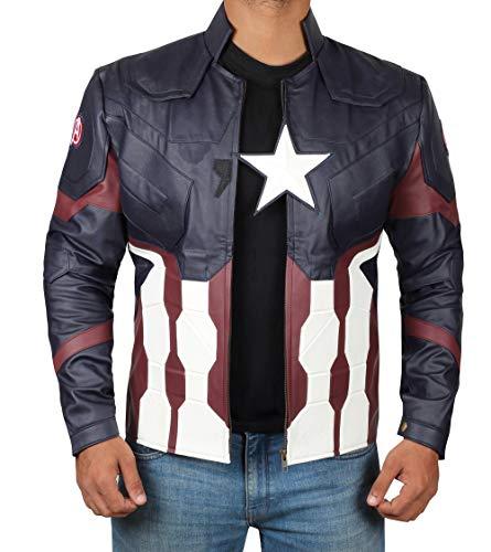 Decrum Halloween Costumes for Men Jacket | Civil, -