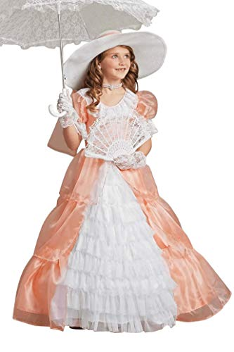 Southern Belle Costume For Kids (Chasing Fireflies Peachy Southern Belle Costume for)